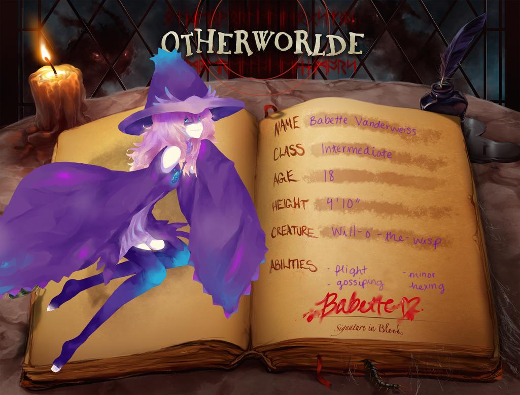 OW: Babette Year 2 by kateheichou