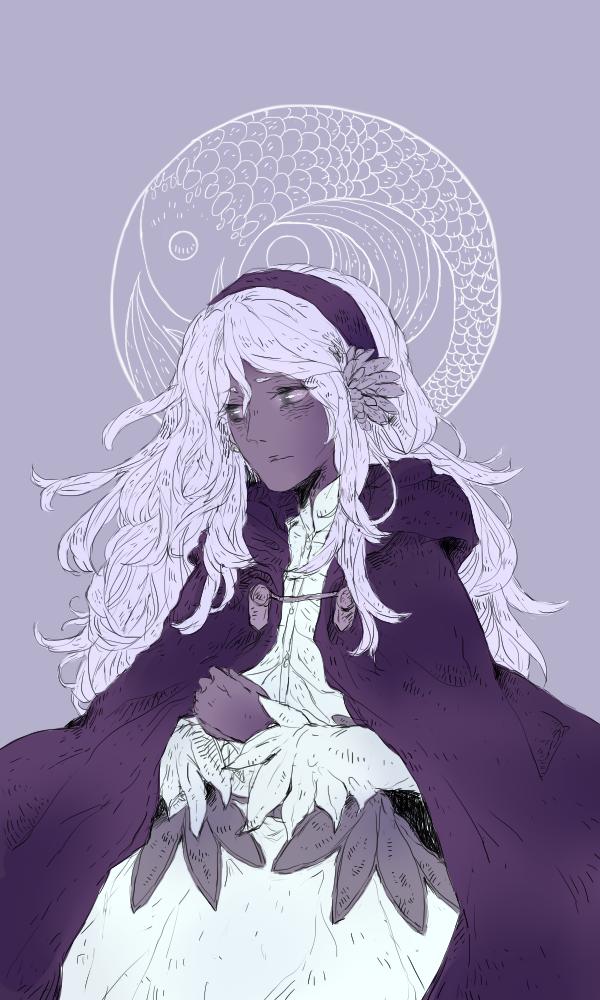 Queen of Sun's Mirror by kateheichou