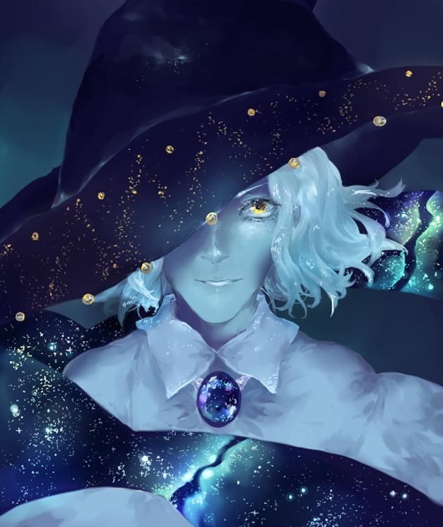 Witch of Stars by kateheichou