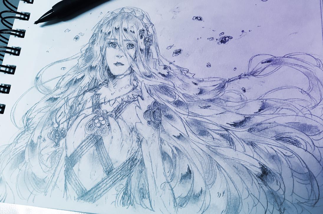 Water Maiden by kateheichou