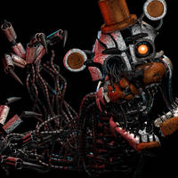 Molten Freddy v2 | ThrPuppet by AyaAscend
