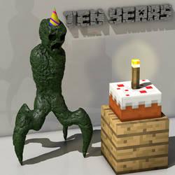 Minecraft 10 Years