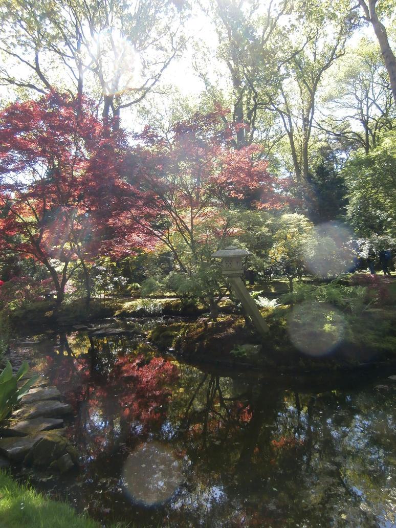 Japanese Garden I by TamayuraPhotography