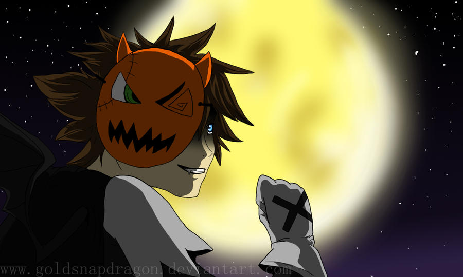 Halloween Town Sora by GoldSnapDragon on DeviantArt
