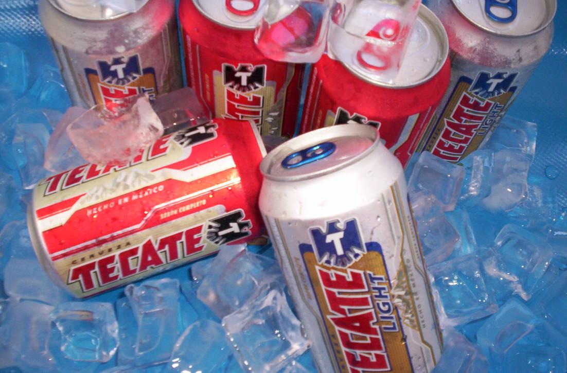 Cerveza Tecate By Estralafapaquetel On Deviantart
