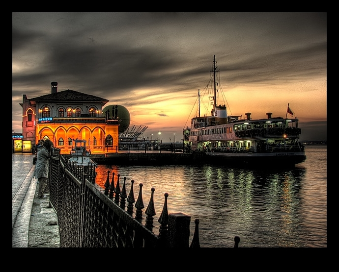 Kadikoy Quay by kivancoder on DeviantArt