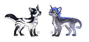 Doggos adopts [CLOSED] by Debdead