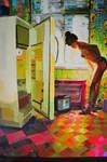 180 x 130 cm oil on canvas