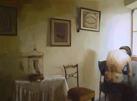 old man 190x 140 oil on canvas