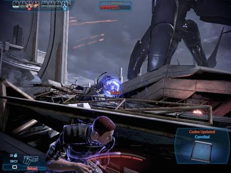 Shepard v's Cannibals 1
