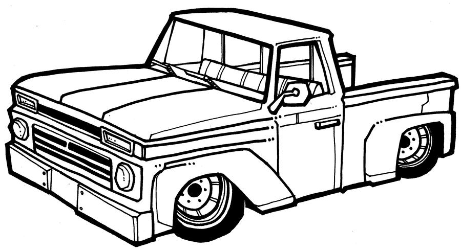 chevelle coloring pages - photo#23