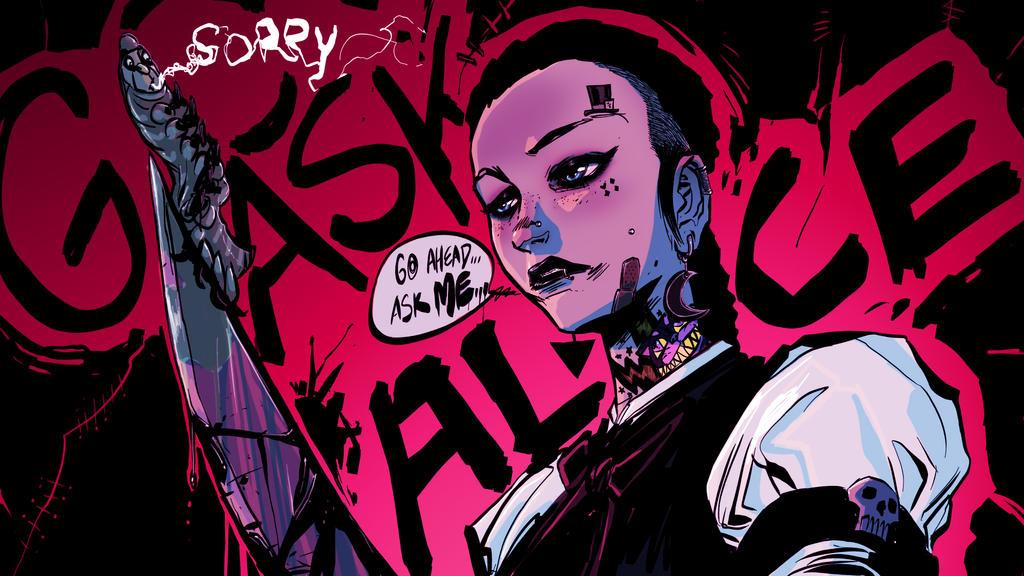 Go Ask Alice (pink) by SickJoe
