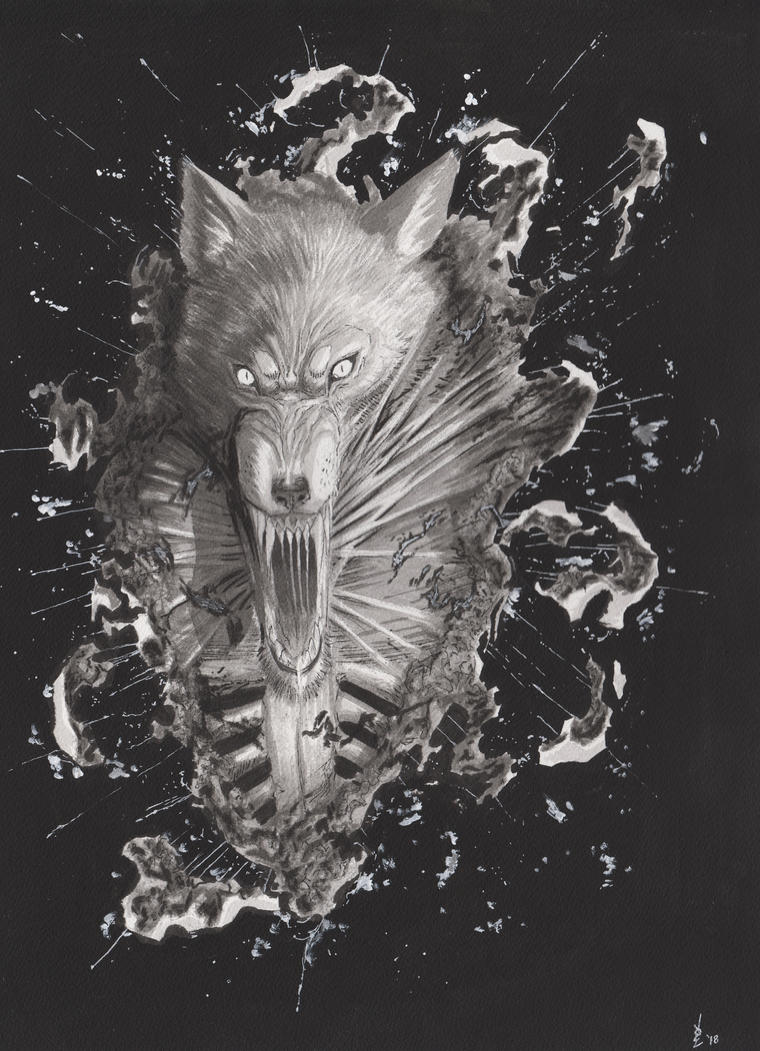 Werewolf Burst by SickJoe