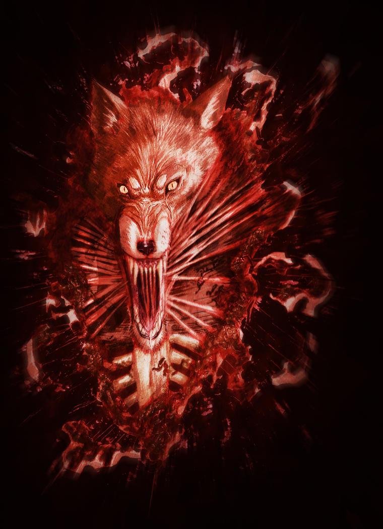 Werewolf Burst (color) by SickJoe
