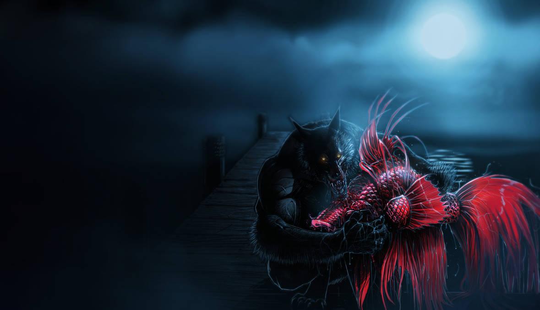 'Werewolf on the Prowl' by SickJoe