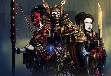 Sisters of Battle by SickJoe