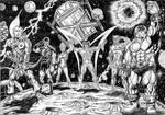 original guardians of the galaxy black by wanderlei78