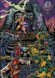 masters of the universe color by wanderlei78