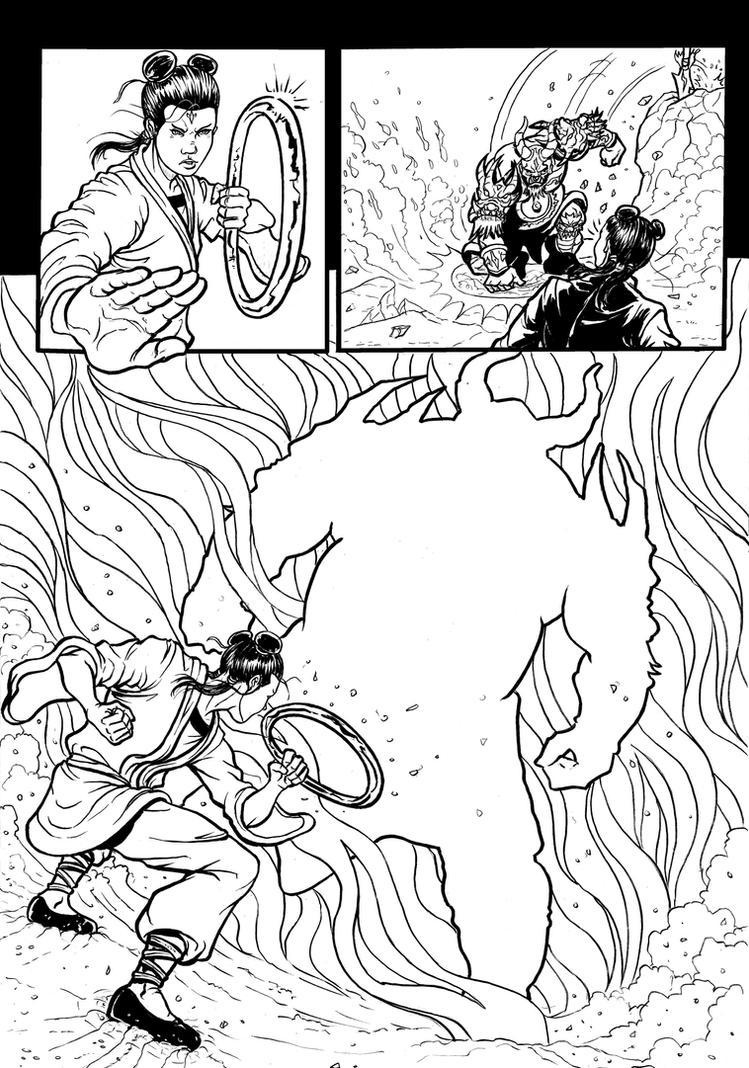 the legend of nezha page 15 by wanderlei78