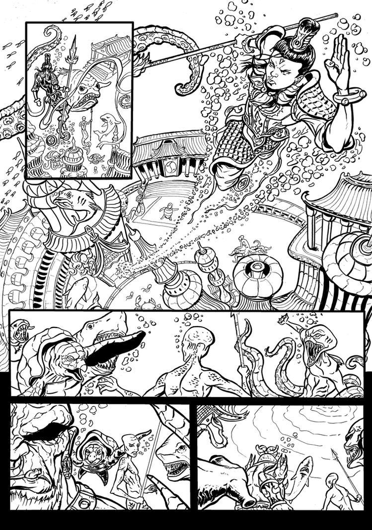 the legend of nezha page 46 by wanderlei78