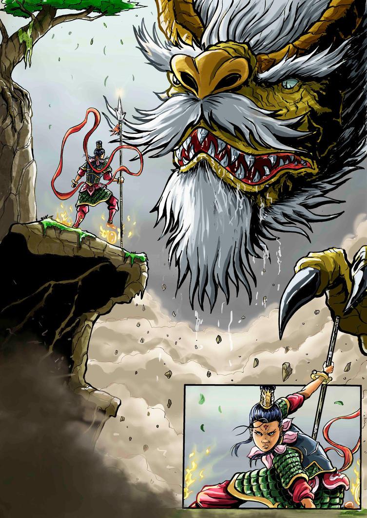 the legend of nezha page 49 by wanderlei78