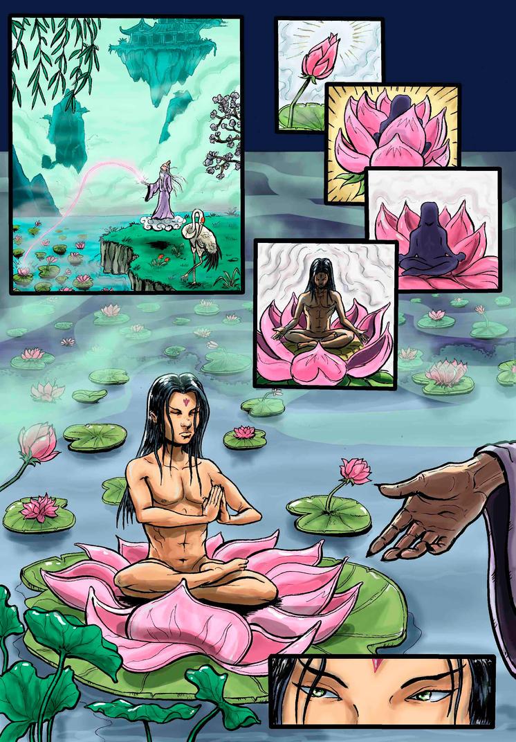 the legend of nezha page 40 by wanderlei78