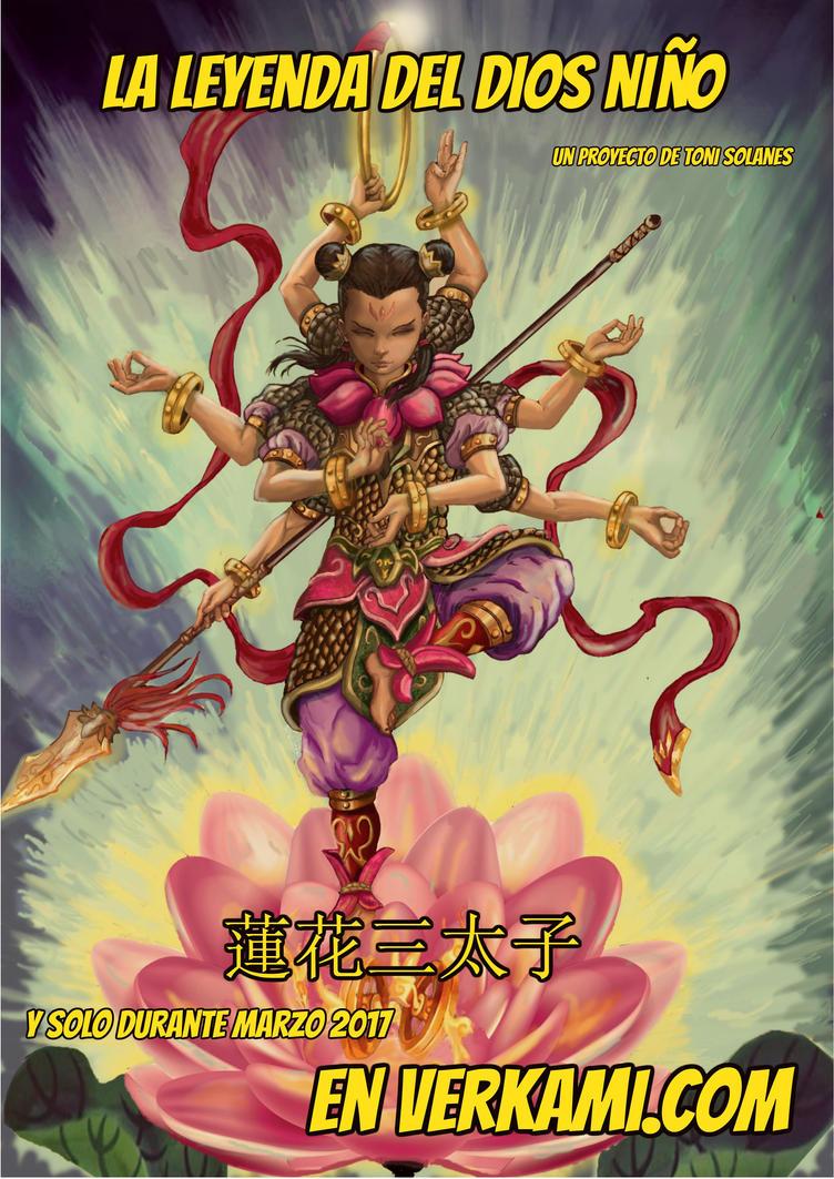 nezha , the legend of the childgod by wanderlei78