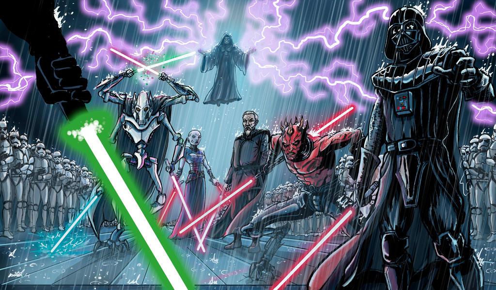 star wars the dark side by wanderlei78