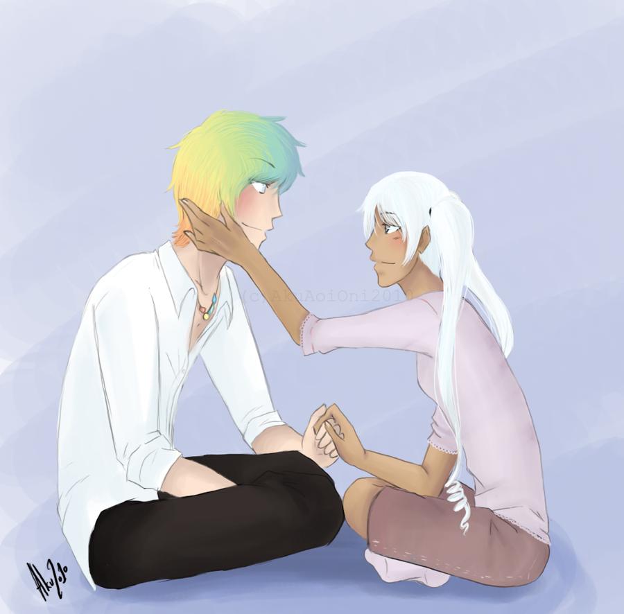 EP - Okino and Michael c: by AkuAoiOni