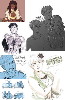 Zero Escape Sketchdump