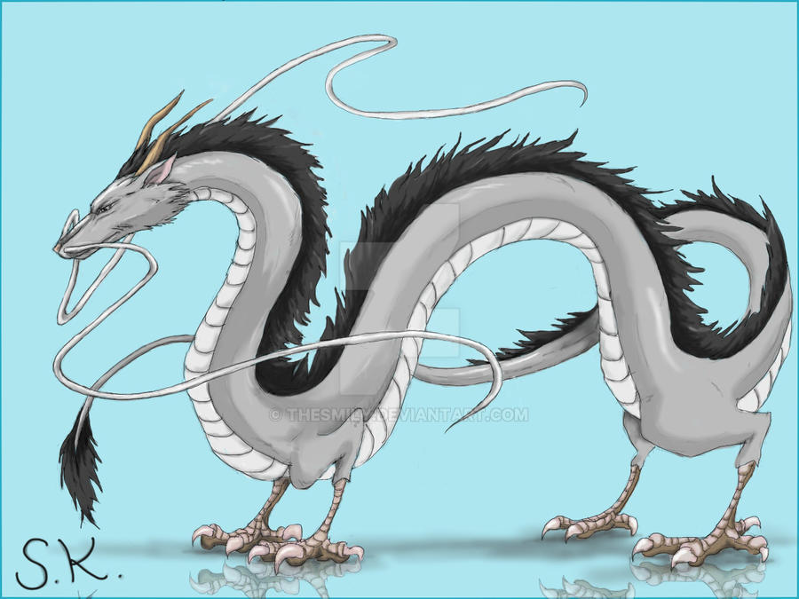 Haku Dragon by TheSmily on DeviantArt