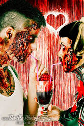 Zombies in Love by DevillePhotography
