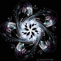 Flower Galaxy by CatSpaceDesign