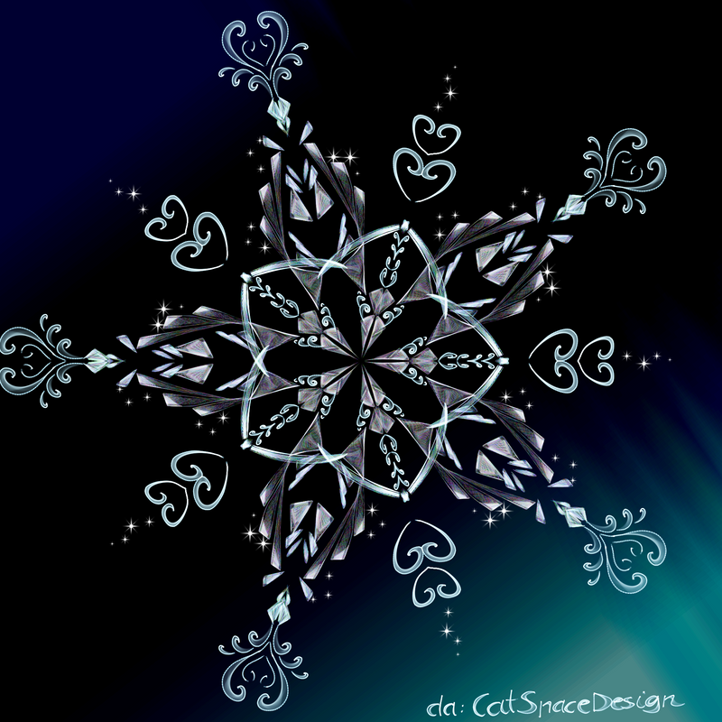 Snowflake Night by CatSpaceDesign