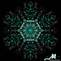 Crystal Green by CatSpaceDesign