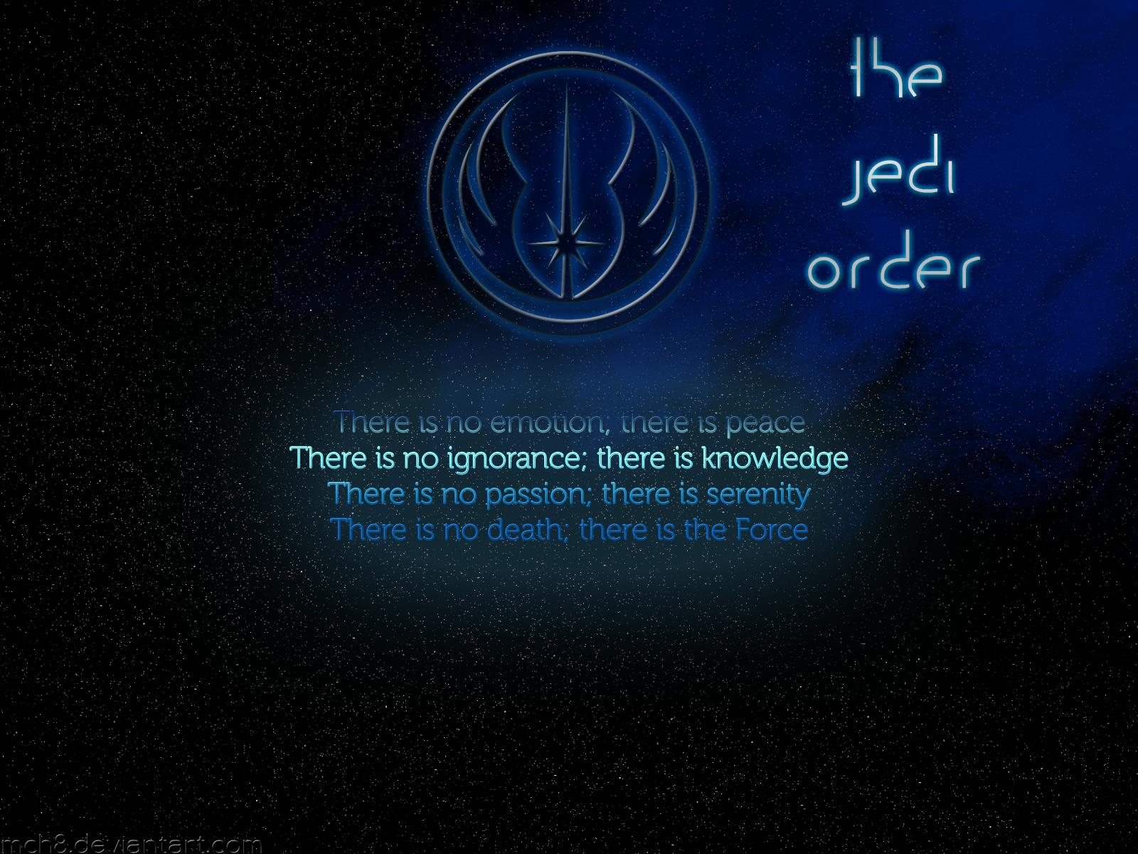 The Jedi Order ... Jedi Code Wallpaper