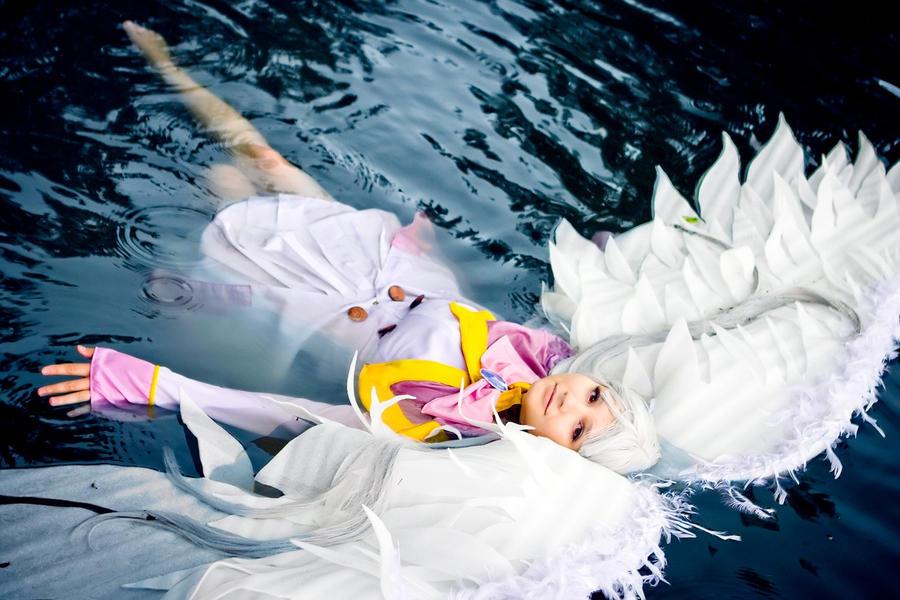 Tired angel Azmaria by Blairchik