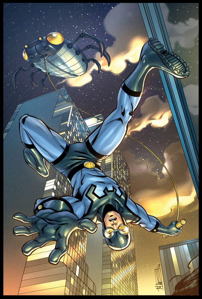 Blue Beetle by Miketron2000