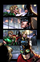 Green Arrow and Batman by Miketron2000