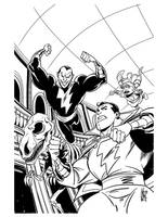 Shazam 14 cover by Miketron2000