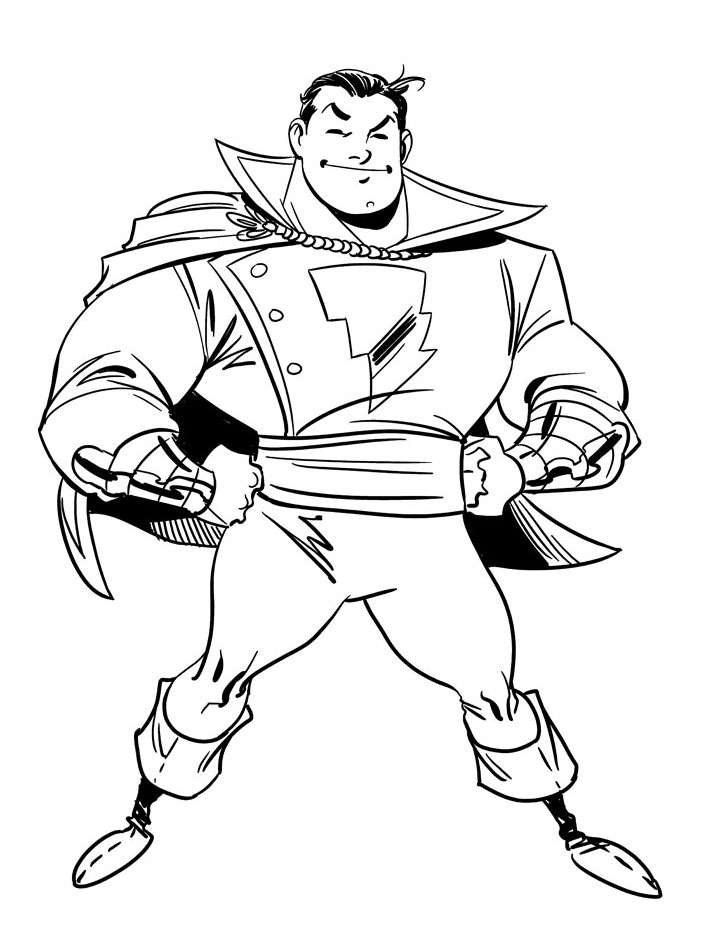 Shazam design by Miketron2000