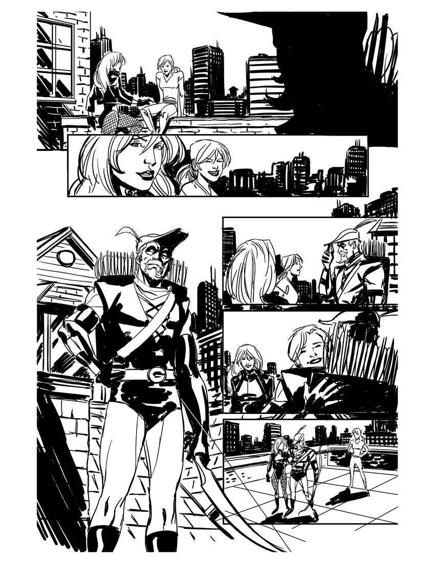 Green Arrow 29 p29 by Miketron2000