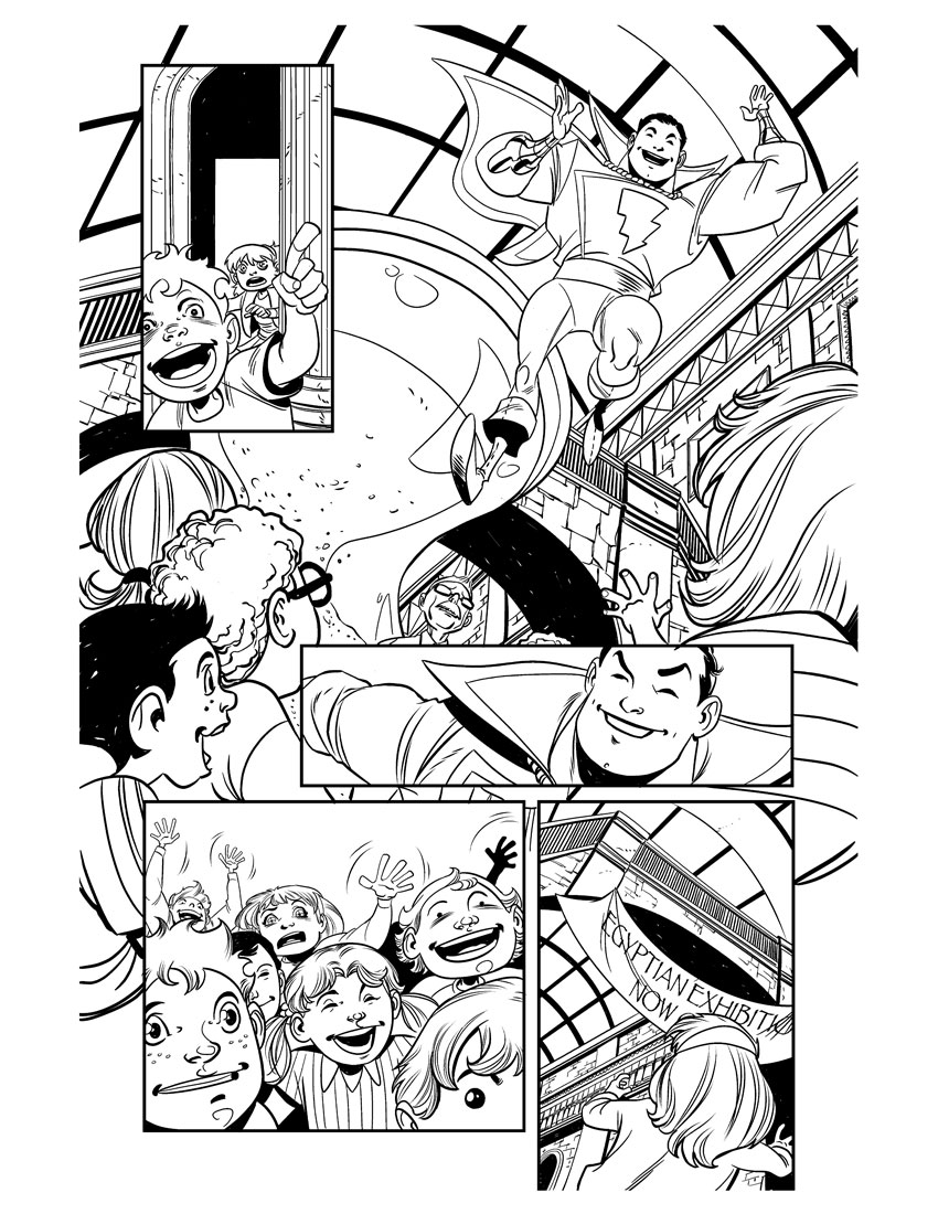 shazam 13 page 12 by Miketron2000
