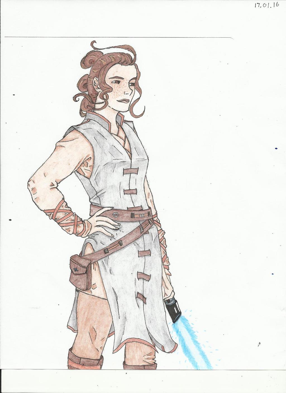 Rey by shadowedshards