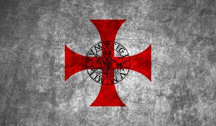 Templars flag by HistoryBuf