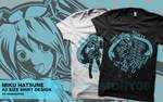 Miku Hatsune A3 Size Shirt Design