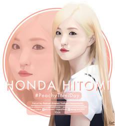 #PeachyTomiDay