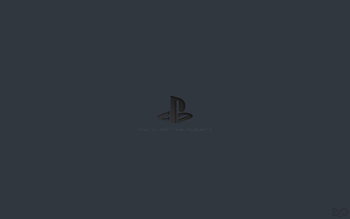 Playstation Logo Wallpaper By Dantescottie