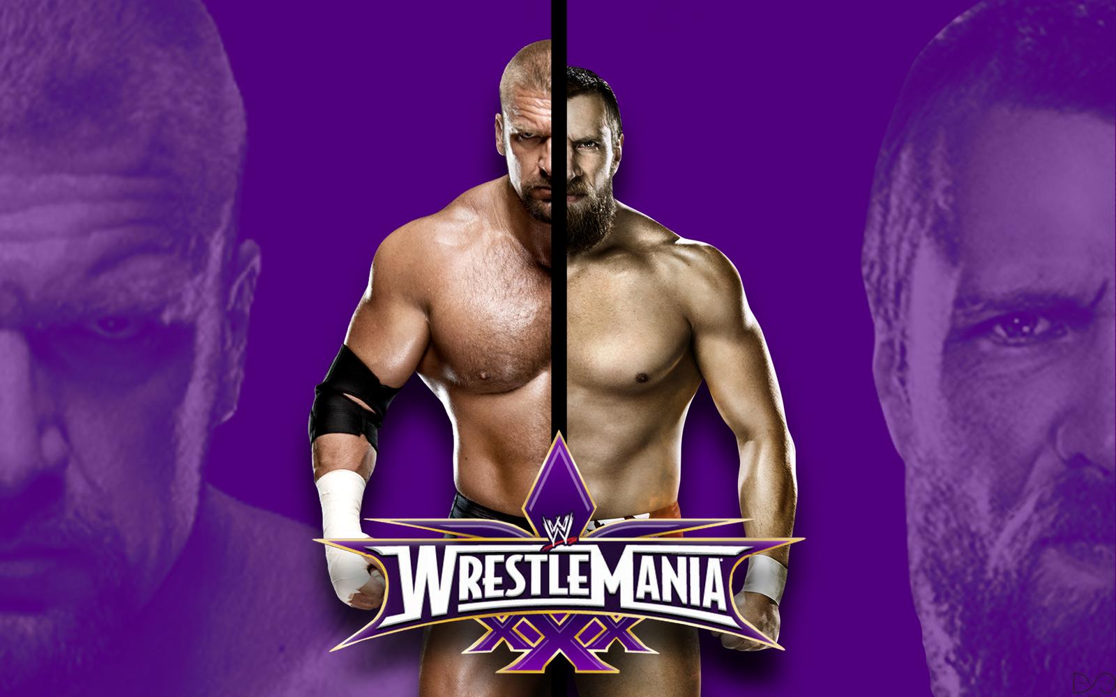 Wrestlemania 30 Daniel Bryan Vs Triple H by dantescottie ...Daniel Bryan Wrestlemania 30 Wallpaper