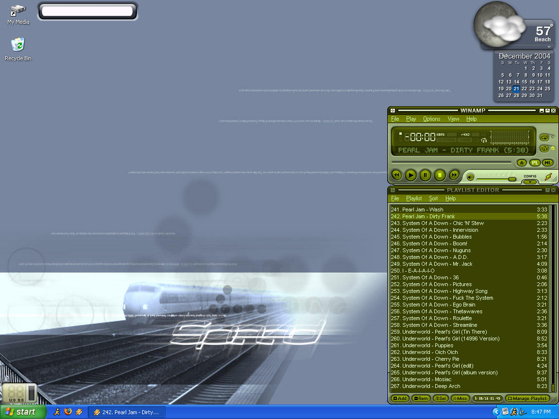 Desktop by surferpete